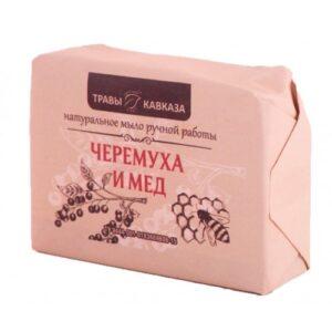 Натуральное мыло с черемухой и медом ручной работы