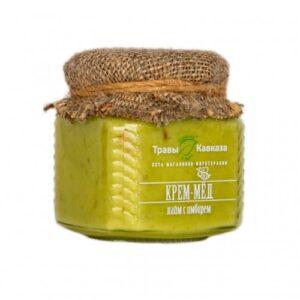 Кремовый мед лайм и имбирь