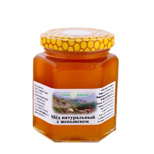 Корень женьшеня с медом