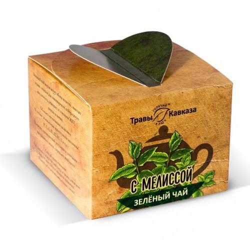 Чай зеленый с мелиссой