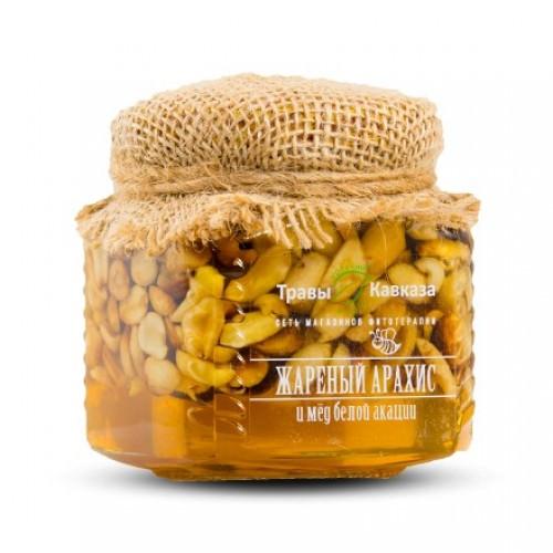 Жареный арахис с акациевым медом