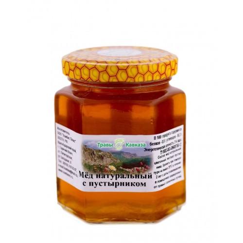 Натуральный мед с пустырником