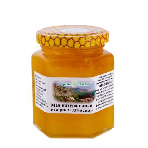 Натуральный мед с корнем девясила